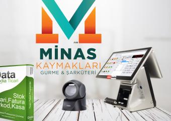 Minas Kaymakları Gurme & Şarküteri Data Media'yı Tercih Etti